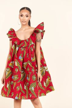 African Print Clothing, African Print Dresses, African Print Fashion, African Dress, African Prints, African Attire, African Wear, African Style, Casual Dresses