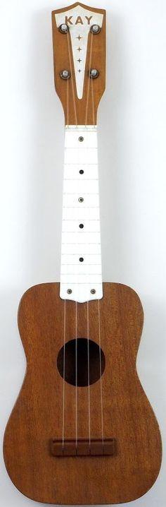 The classic 1950's/60's Kay Soprano Ukulele with plastic fretboard