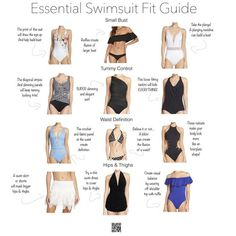 2c8ced88046 ... to help you find a swimsuit that fits and flatters your body including  small bust bikinis and one piece