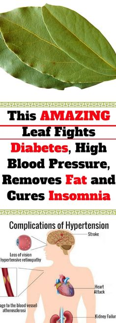 This AMAZING Leaf Fights Diabetes, High Blood Pressure, Removes Fat and Cures Insomnia! Read This!!!