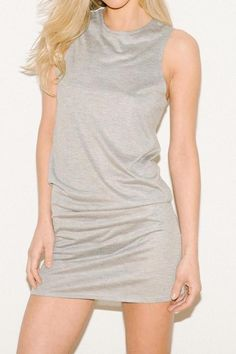 Fortnight's casually sophisticated Faye chemise is irresistibly soft ..and simple in its elegance  Faye Chemise  by Fortnight. Clothing - Lingerie & Sleepwear Portland, Maine