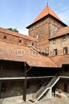 Fototapeta Zamek w Nidzicy, Polska