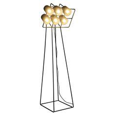 Seletti Multilamp Hanglamp Stadium Zwart -online interieur, design,cadeau en decoratie winkel.