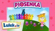 Piosenki dla dzieci. Wlazł kotek na płotek. Lulek.tv Kindergarten, Poems, Children, Itunes, Tv, Youtube, Polish Language, Young Children, Boys