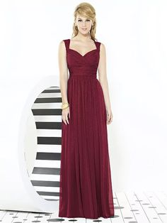 After Six Bridesmaids Style 6712 (shown in burgundy gold)