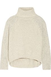 Line Cove knitted cotton-blend turtleneck sweater