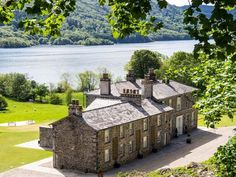 Silverholme a sumptuous holiday home in the Lake District which sleeps 18 people in 9 bedrooms. 9 bathrooms. Situated near Hawkshead close to the banks of Lake Windermere.