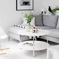 Via Stylizimo   Grey and White   Eames   Milk Lamp   Pia Wallen