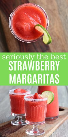 Famous Strawberry Margaritas Famous Strawberry Margaritas,Modern Crumb Recipes Seriously the best strawberry Blended not mixed, so they stay nice and cold. These strawberry margaritas are always the first to go at parties and. Frozen Margaritas, Frozen Strawberry Margarita, Frozen Drinks, Frozen Margarita Recipes, Strawberry Daquiri, Strawberry Margarita Recipe On The Rocks, Frozen Strawberry Recipes, Peach Margarita, Margarita Party