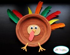 Turkey Craft for the little ones-