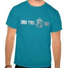 John Paul Two (Doctor Who logo imitation) Tshirts