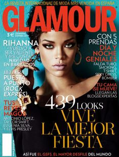 Glamour diciembre Rihanna