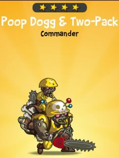 Poop Dogg & Two-Pack - http://puzzletrooper.com/