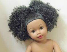 LOVELY 18'' AMERICAN GIRL FRIEND MADAME ALEXANDER BLK AA W/AFRO DOLL OOAK PLAY in Dolls & Bears   eBay