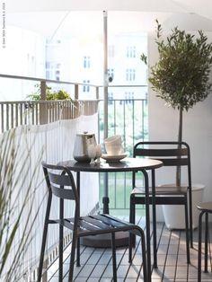 Afbeeldingsresultaat voor klein balkon aankleden