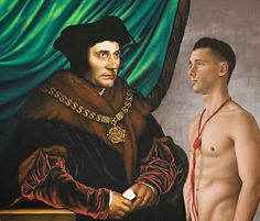 Vermeer .  Holbein .  Caravaggio .  Sagat . What happens when you put shirtless gay men in front of famous paintings? The work of Ro...