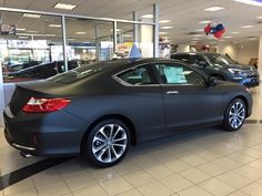 We transformed this 2013 Honda Accord Coupe into a matte black beauty!