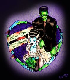 Frankenstein & Bride