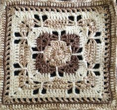 Ravelry: Project Gallery for Butterfly Garden Square pattern by Chris Simon