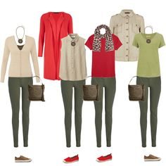 Casual capsule wardrobe on a budget olive green pants outfit, green jeans, Olive Pants Outfit, Olive Green Outfit, Fall Outfits, Casual Outfits, Cute Outfits, Pantalon Vert Olive, Looks Style, My Style, Look Fashion