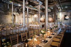 Retro Industrial Wedding at Fermenting Cellar Wedding Themes, Wedding Designs, Wedding Styles, Our Wedding, Bridal Decorations, Table Decorations, Rustic Elegance, Industrial Wedding, Cellar