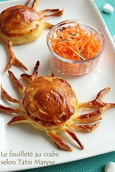 feuilleté au crabe, recette antillaise, ou créole