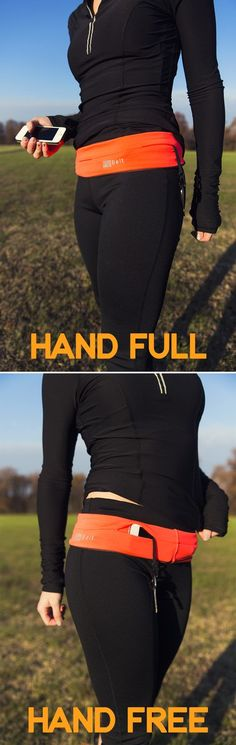 Flip Belt - great for workouts