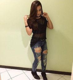 """961 Me gusta, 14 comentarios - Garotas De Grife (@garotaszdegrife) en Instagram: """"Amando o look ♥️ Usariam Sim Ou Não? - Siga @w.angelstore"""""""