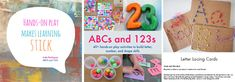 ABCs and 123s by Cathy James and a host of talented worldwide contributors