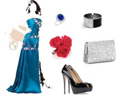 """""""evening dress"""" by quinceanera-fashionos on Polyvore"""