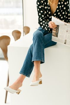 the best white shoes to buy for spring // luella & june