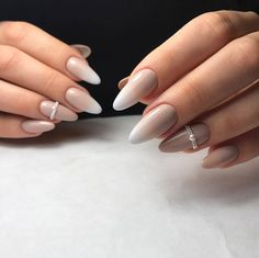 Here are the 10 most popular nail polish colors at OPI - My Nails Gradient Nails, Nude Nails, Hair And Nails, My Nails, Almond Acrylic Nails, French Tip Nails, Manicure E Pedicure, Nagel Gel, Prom Nails