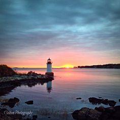 Fort Pickering Lighthouse. Salem, MA