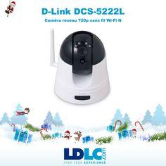 Grand jeu de Noël LDLC ! Vous avez voté pour : D-Link DCS-5222L http://www.ldlc.com/fiche/PB00131128.html Avec ça, vous allez pouvoir surveiller l'arrivée du barbu le 25!  Vous aimeriez gagner ce produit ? RDV le 27/11 pour vous inscrire à notre grand jeu de Noël !