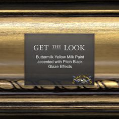 Get The Look: Buttermilk Yellow Milk Paint with Pitch Black Glaze Effects Get the look of burnished gold with Buttermilk Yellow Milk Paint accented wi. Small Woodworking Projects, Woodworking Store, Woodworking Workshop, Rockler Woodworking, Milk Paint Furniture, Painted Furniture, Old World Furniture, Furniture Nyc, Furniture Online