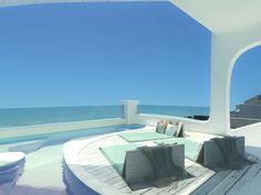 Nefeles Resort SantoriniSantorini2017 - 2019PrivateBuilt340 m2 Hotel Architecture, Luxury Villa, Santorini, Greece, Landscape, Villas, Building, Interior, Outdoor Decor