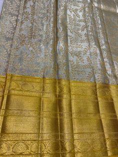 Kanjivaram Sarees Silk, Pure Georgette Sarees, Mysore Silk Saree, Indian Silk Sarees, Cotton Saree, Saree Designs Party Wear, Saree Kuchu Designs, Wedding Saree Blouse Designs, Silk Saree Blouse Designs