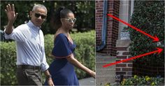 Barack & Michelle Return To New Home, ONE Thing Spotted In Yard You'll Hate