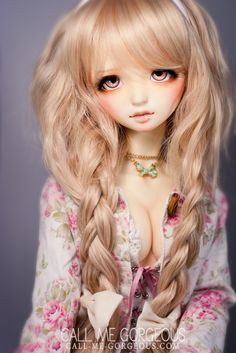 My new girl Kaine! I absolutely love her and her adorable freckles Other in this set: New girl! Pretty Dolls, Cute Dolls, Beautiful Dolls, Anime Dolls, Blythe Dolls, Barbie Dolls, Big Eyes Artist, Puppy Face, Girls Rules