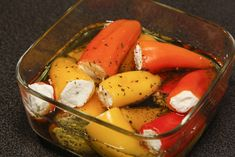 Feta, Romanian Food, Greek Recipes, Watermelon, Eggs, Yummy Food, Stuffed Peppers, Treats, Vegetables