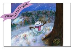 Snow Toad Christmas card from Froglife: http://shop.froglife.org/shop/ProductDetailLandscape.aspx?ID=72
