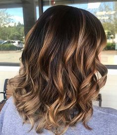 Balayage Lob for Lob Hairstyles for Fall and Winter