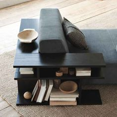 West Elm offers modern furniture and home decor featuring inspiring designs and colors. Create a stylish space with home accessories from West Elm. Bookshelf Table, Bookshelves, Diy Furniture, Modern Furniture, Furniture Design, West Elm Side Table, Side Tables, Regal Design, Home And Living