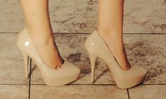nude heels obviously a staple especially for summer
