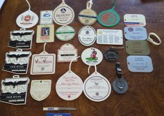 25 Vintage Pro Golf Bag Tags by 3LittleWitches on Etsy