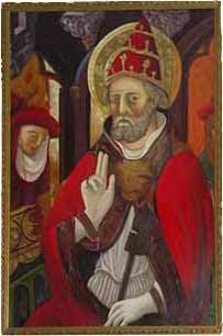 El Papa Luna (1329-1423): El anti-papa.--- En savoir plus: http://fr.wikipedia.org/wiki/Beno%C3%AEt_XIII_%28antipape%29
