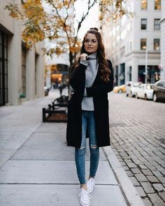 How To Style Your Converse Sneakers For Fall/Winter