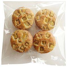 グルテンフリー 天然酵母 米粉パン リンゴ&紅茶 4個セット gluten free bread