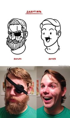 shaving before and after confirmed - https://www.facebook.com/diplyofficial