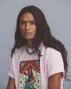Meet 4 Indigenous-Owned Streetwear Brands Empowering Their Communities Beautiful Men, Beautiful People, Ac New Leaf, Native American Men, Ethical Fashion Brands, Portraits, Aesthetic People, Interesting Faces, Streetwear Brands